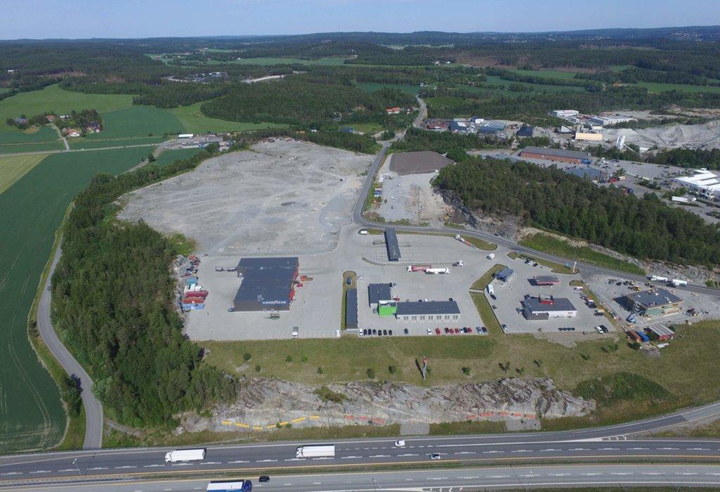 Park & Anlegg AS skal utføre grunnarbeid, VA og utemiljø på den nye Peterson-fabrikken, Svinesundparken, E6 Halden