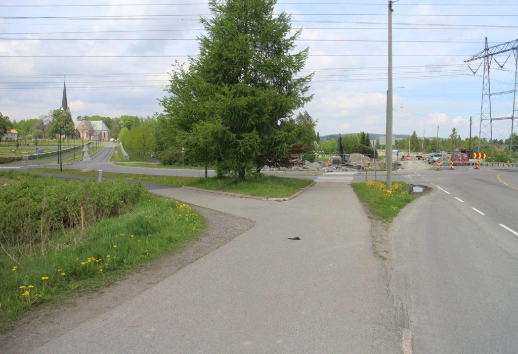 Grunnarbeider på RV 120 med vei, sykkel & gangvei og plasstøpt kulvertundergang