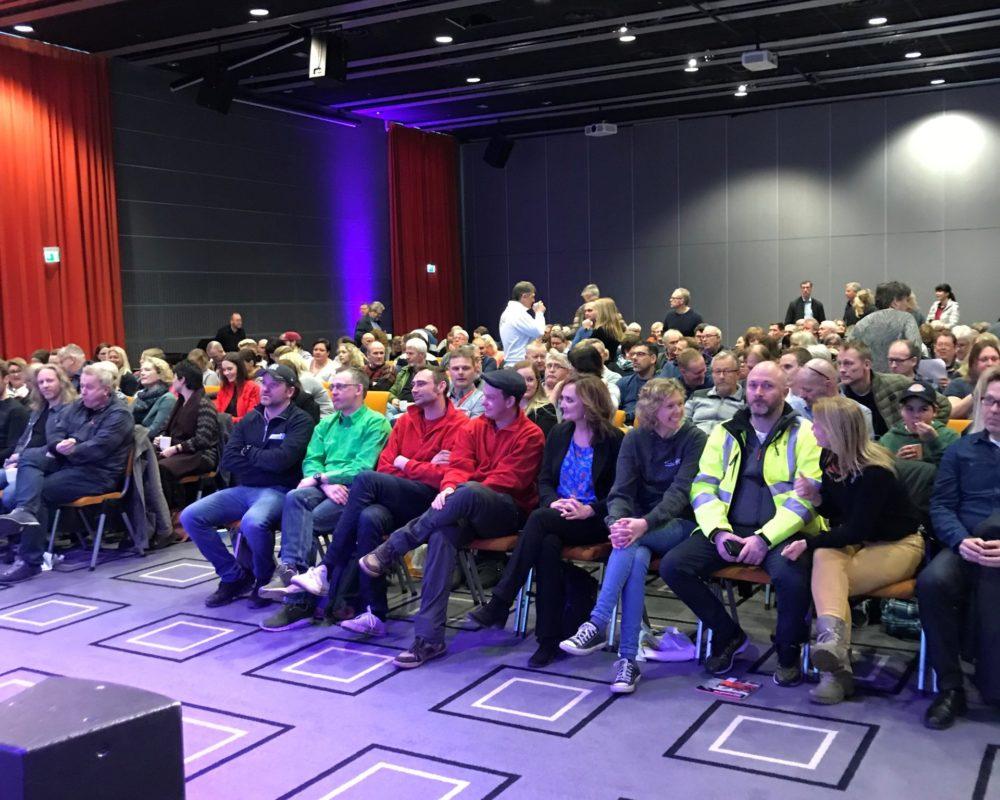 God deltagelse på arrangementet i Sarpsborg