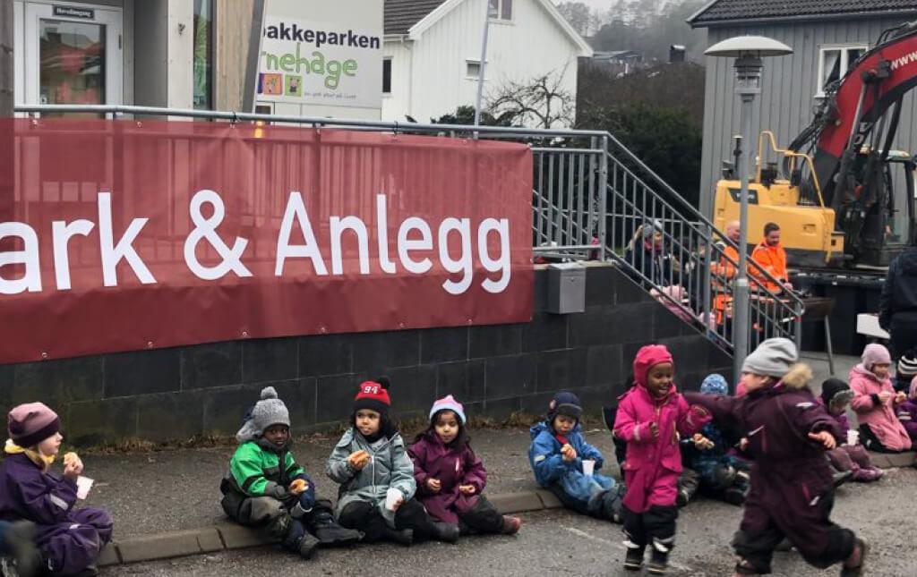 Grillfest med Solbakkeparken Barnehage i Halden