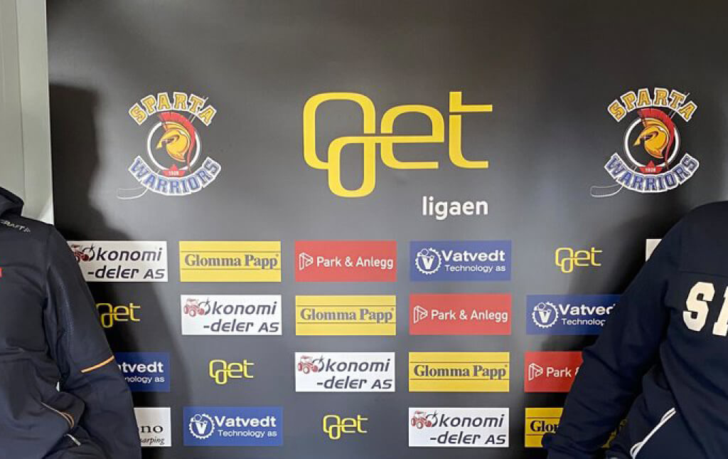 Park & Anlegg går inn som kampsponsor for Sparta Warriors