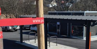 Nytt sykkelhotell overlevert til Fredrikstad Kommune