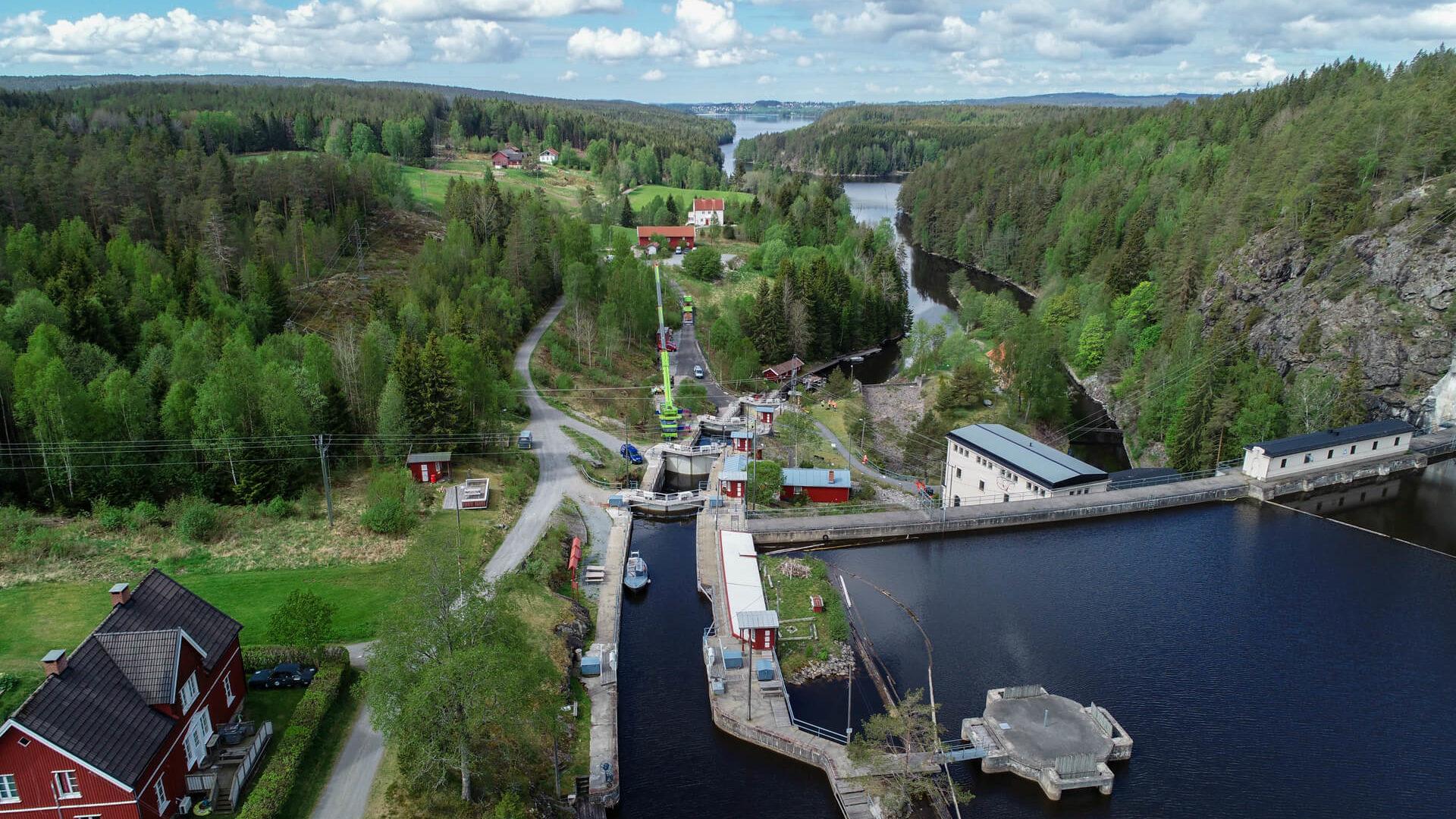 Brekke Kraftstasjon Halden