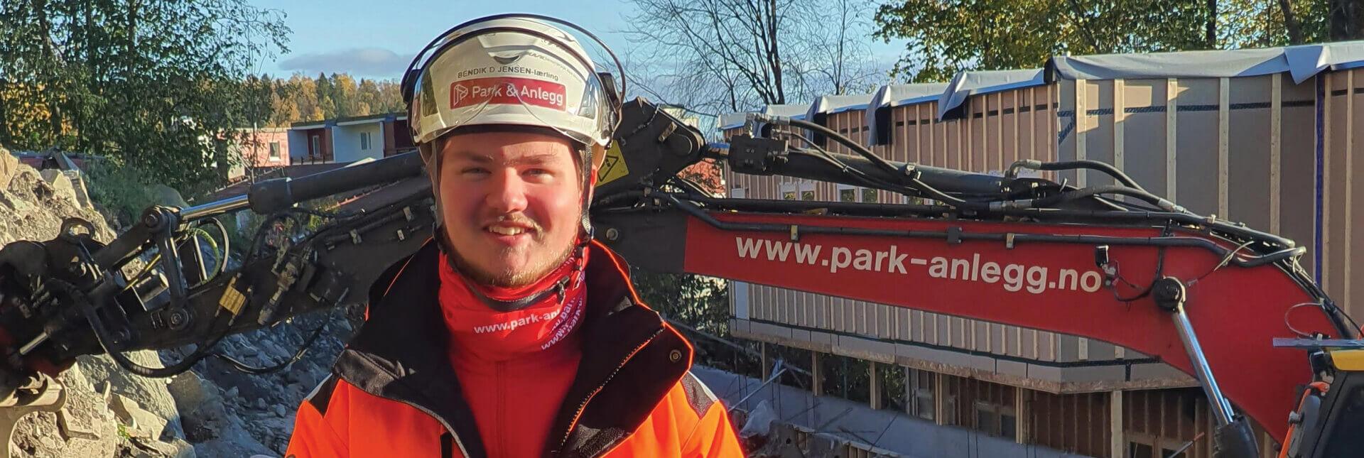 Lærling Bendik Dahlin Jensen