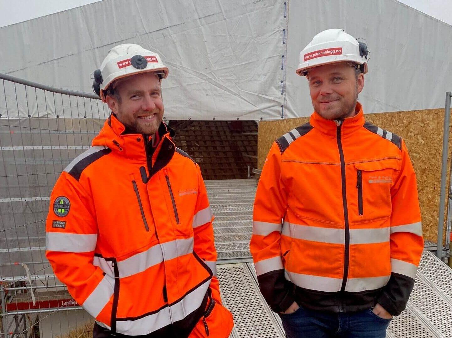 Fv. formann Johann og Anleggsleder Kai-Erik